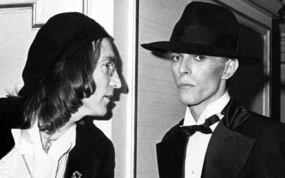 DavidBowie+JohnLennon-1975
