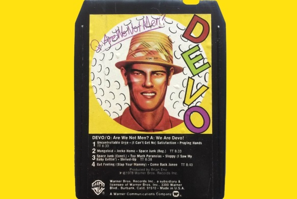 Devo-AreWeNot-8track