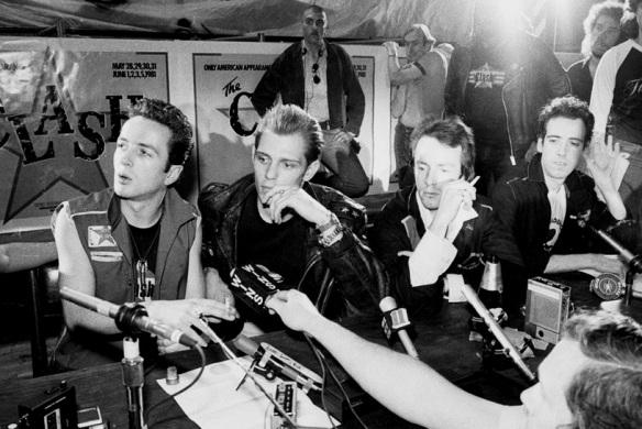 Clash-1981-pressConference